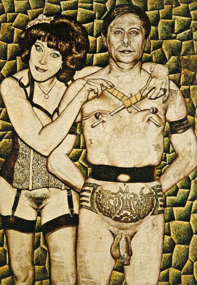 Annie Sprinkle und Fakir Musafar