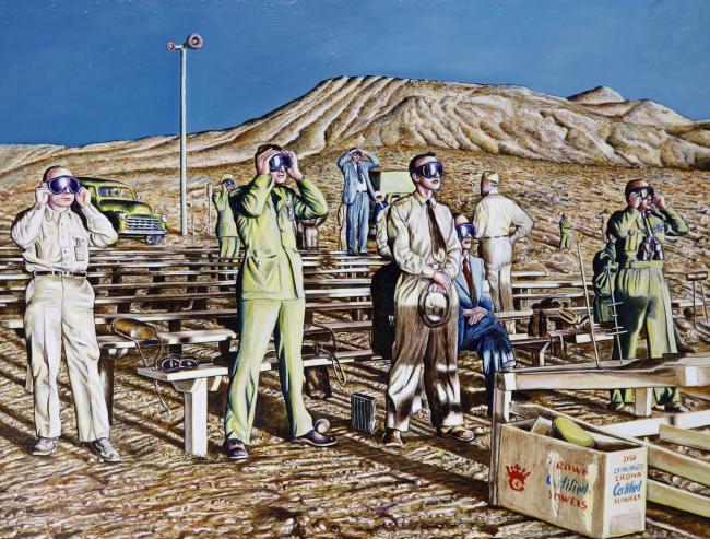 Zuccini, Nevada, 1955